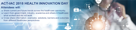 ACT-IAC 2018 Health Innovation Day - 4/19