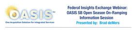 ACT-IAC Federal Insights Exchange: OASIS Webinar: 6/10