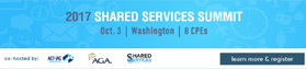 Shared Services Summit 2017