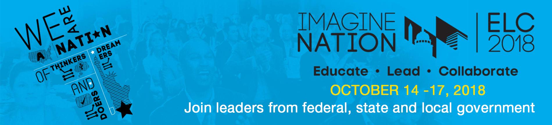 ACT-IAC Imagine Nation ELC 2018