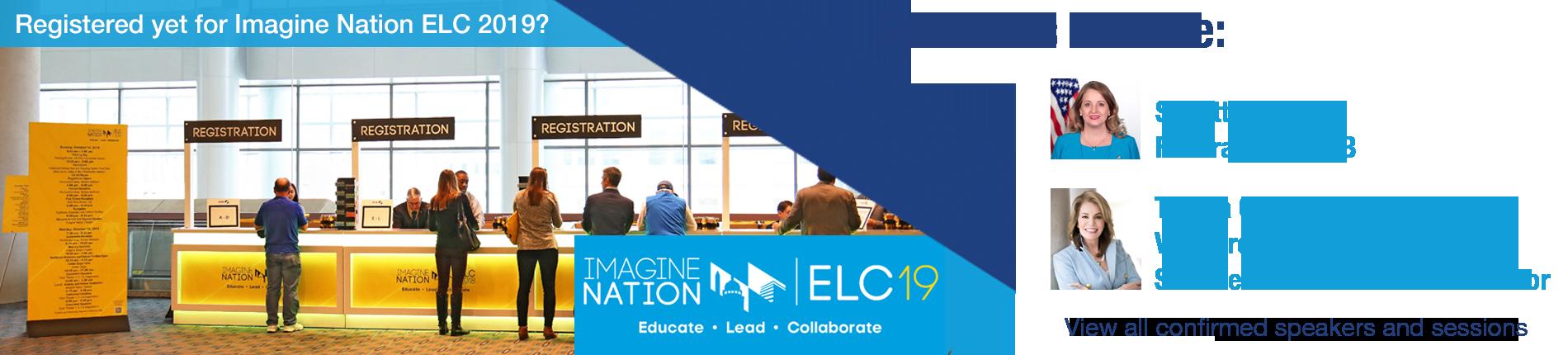 Imagine Nation ELC 2019 Banner