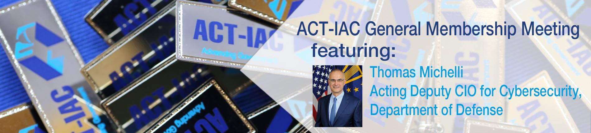 ACT-IAC November Membership Meeting