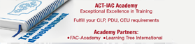 ACT-IAC Academy Training